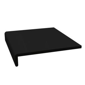 Planche De Rive Pvc Cellulaire Noir 0m20x5m00 Ep 9mm Envain Materiaux