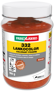 Colorant 332 LANKOCOLOR rouge - 900g