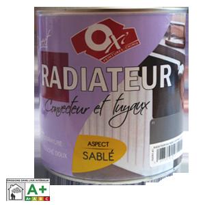 Peinture RADIATEUR Titane effet sablé 0,5L | ENVAIN MATERIAUX