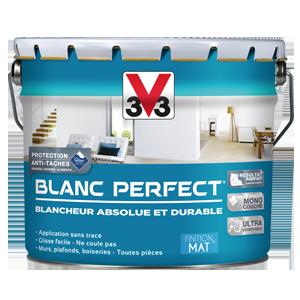 Peinture V33 Blanc Mat 10l Monocouche